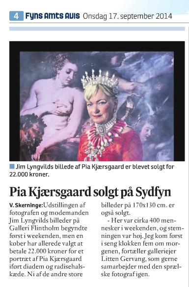 Pia Kjærsgård solgt på Sydfyn