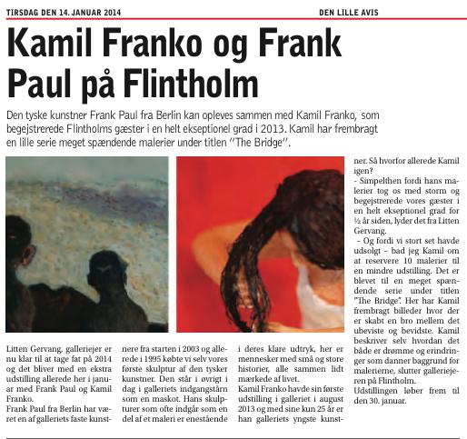Kamil Franko og Frank Paul på Flintholm