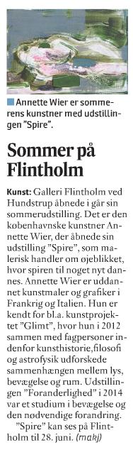 Sommer på Flintholm