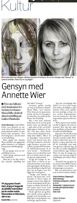 Gensyn med Annette Wier