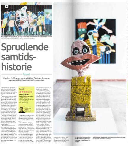 Sylvester´s kunst på Flintholm okt.2015