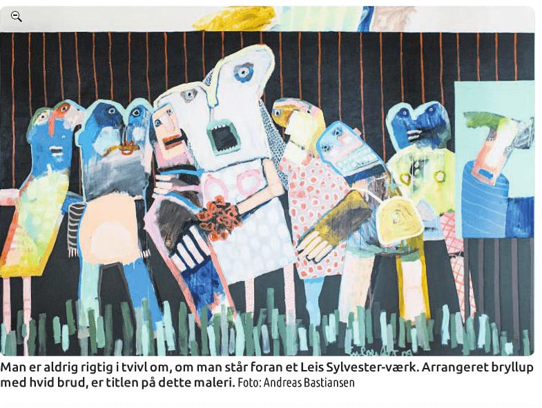 Sprudlende samtidshistorie med Sylvester´s kunst